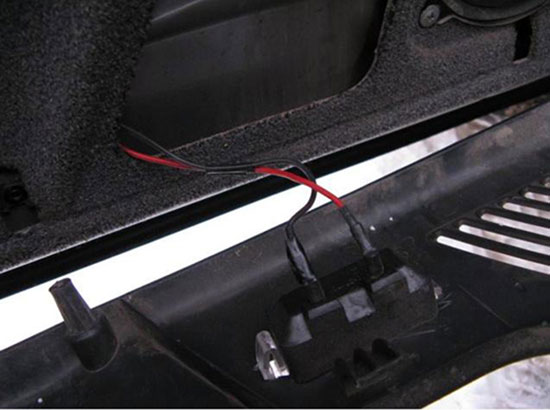 Подсветка дверей ВАЗ 2110 своими руками — пошаговая инструкция