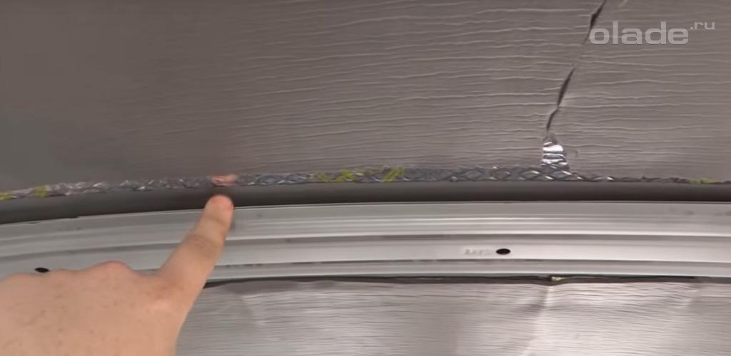 Обработка крыши специальными материалами Лада