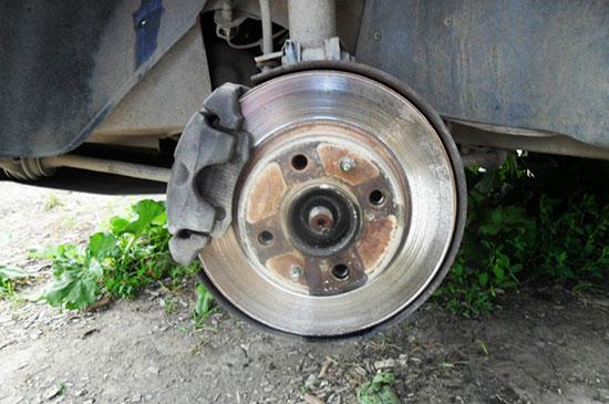 Самостоятельная замена тормозных дисков ВАЗ