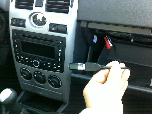Встроенный USB порт и выводы для усилителя
