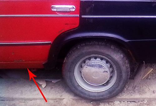 Замена порогов ВАЗ 2106 своими руками — детальная инструкция