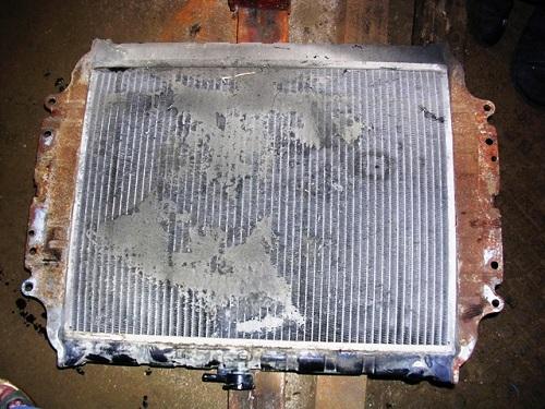 Состояние радиатора после 120т. км пробега