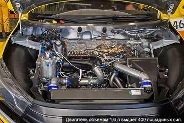 Двигатель Весты WTCC