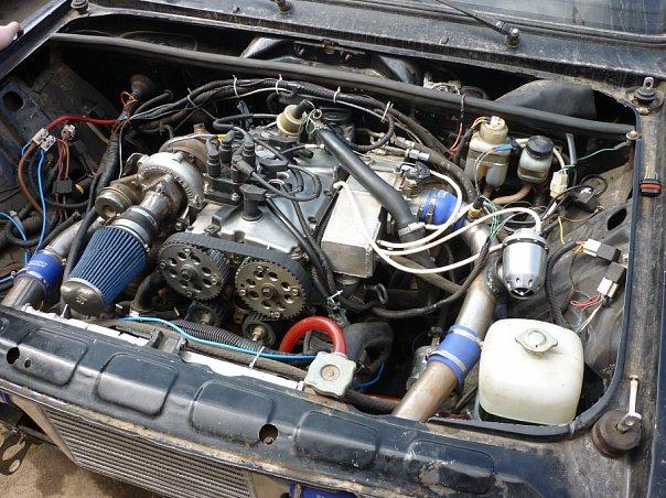 Установка мотора 16V