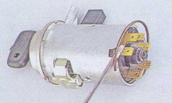 Устройство замка зажигания ВАЗ