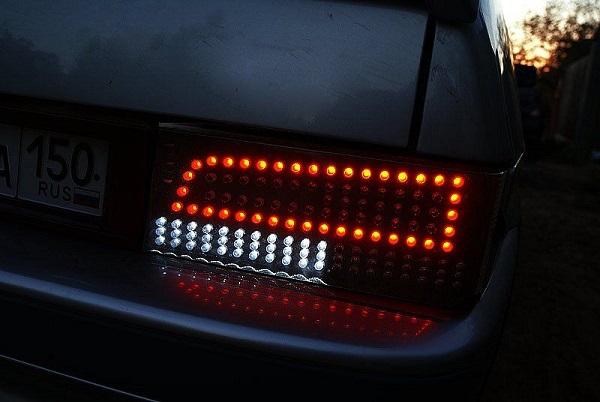 Задние фонари на ВАЗ 2114