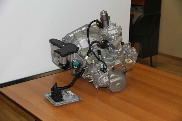 Коробка передач 2180 и электронный блок управления