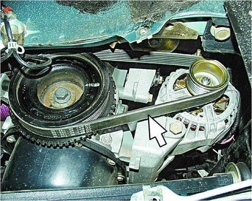 Ремень генератора ВАЗ 2110