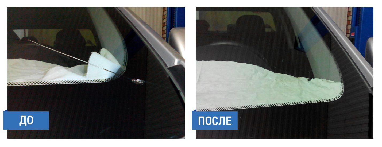 Ремонт сколов и трещин на лобовом стекле своими руками (фото 4)