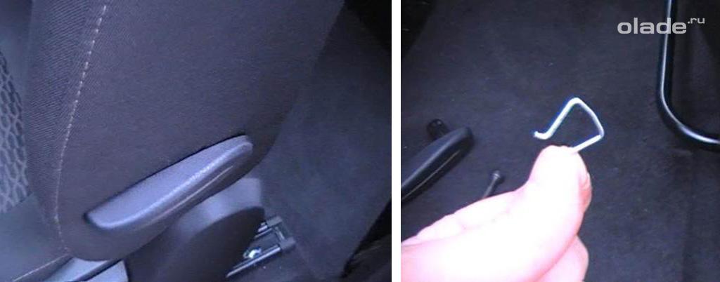 Устанавливаем правильно чехлы на сидения Лада Веста (фото 8)