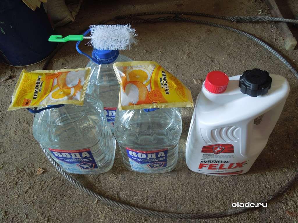 Замена антифриза на Ладе Приора и очистка охлаждающей системы (фото 1)