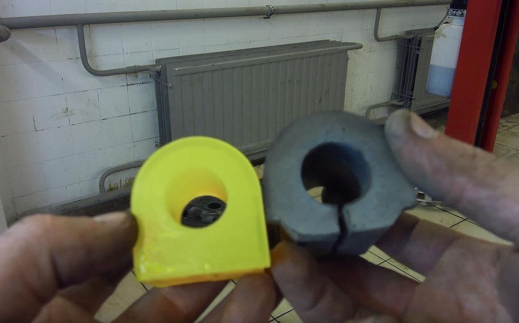 Замена втулок стабилизатора на Ладе Веста без разреза, полиуретановые втулки на Ладе Весте